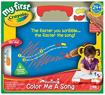 Crayola Beginnings Color Me A Song