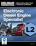 img - for ASE Test Preparation Manual - Electronic Diesel Engine Diagnosis Specialist (L2) (Ase Test Preparation: Medium/Heavy Duty Truck Technician Certification) book / textbook / text book
