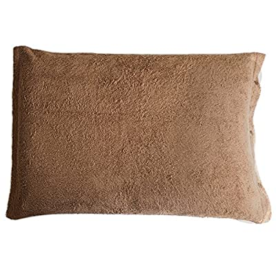 TRANPARAN 枕カバー ピローケース タオル地 日本製 (チョコブラウン)