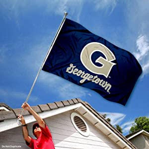 Buy Georgetown Hoyas GU University Large College Flag by College Flags and Banners Co.