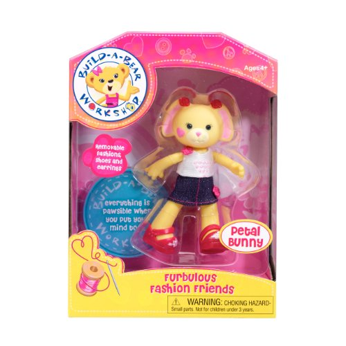Build-A-Bear Workshop - Furbulous Fashion Friends - Petal Bunny - 1