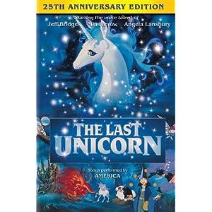 Amazon.com: The Last Unicorn: Jeff Bridges, Mia Farrow, Angela ...