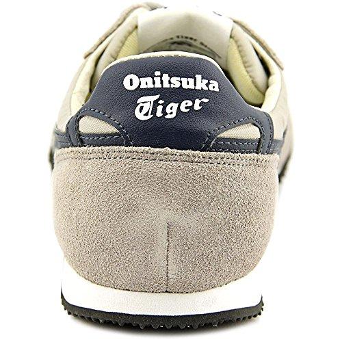 Onitsuka Tiger Serrano Fashion Sneaker,Grey/Navy,14.5 M US Women's/13 M US Men's