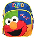 "Sesame Street Elmo 10"" Toddler Mini Backpack ""Elmo Ha Ha Ha"""