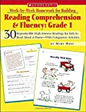 img - for Week-by-Week Homework for Building Reading Comprehension & Fluency: Grade 1 (Week-by-Week Homework For Building Reading Comprehension and Fluency) book / textbook / text book