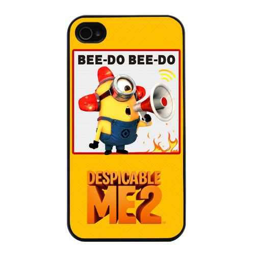 Patrick Adiarte Wallpapers Despicable Me Minion Phil Yellow Background Fashion Design Hard Case