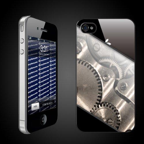 Fun iPhone Hard Case Designs   The Gears Inside CLEAR Protective iPhone 4/iPhone 4S Hard Case