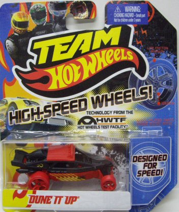 Team Hot Wheels High Speed Wheels - Dune It Up (Black and Red) - 1