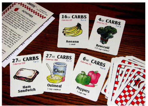 Carb Cards Carbohydrate And Nutrition Flashcards (Carb Cards Nutrition Flashcards)