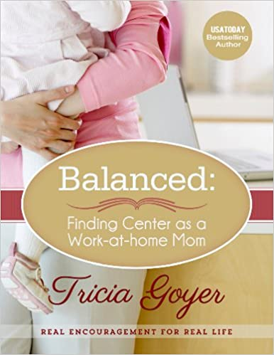 Balanced:  Finding Center as a Work-at-Home Mom