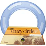 Petmate Crazy Circle Interactive Cat Toy, Large