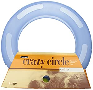 Aspen Pet 29393 Petmate Crazy Circle Interactive Cat Toy, Large