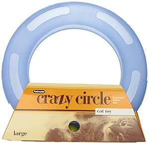 Aspen Pet 29393 Petmate Crazy Circle Interactive Cat Toy, Large