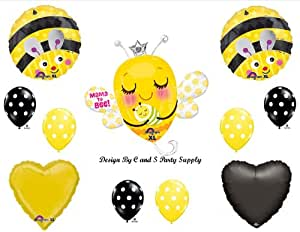 Anagram MAMA TO BEE BABY SHOWER Balloons Decorations Supplies Momma Bumblebee