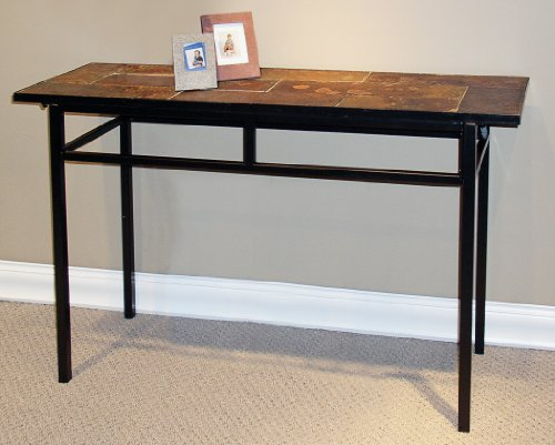 Cyber monday slate top sofa table price cheap black friday for Sofa table cheap