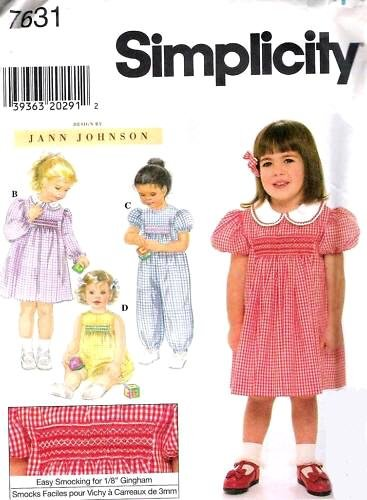 Simplicity Sewing Pattern 7631