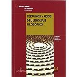 Términos y usos del lenguaje filosófico (Universidad)