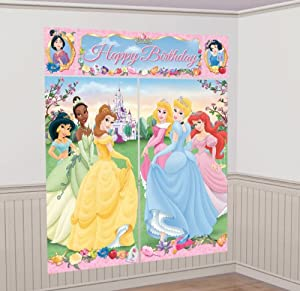 Amscan Disney Princess Scene Setter