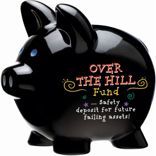 Over the hill piggy bank 1 ct 1 per package