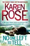 No One Left To Tell (Romantic suspense Book 13)