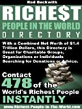 img - for Richest People In The World Directory book / textbook / text book