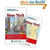 New York: MERIAN live! Mit Kartenatlas im Buch und Extra-Karte zum Herausnehmen