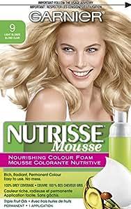 Garnier  Nutrisse Nourishing Color Foam, Light Blonde