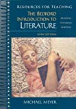 Resources for Teaching the Bedford Introduction to Literature (0312171390) by Michael Meyer