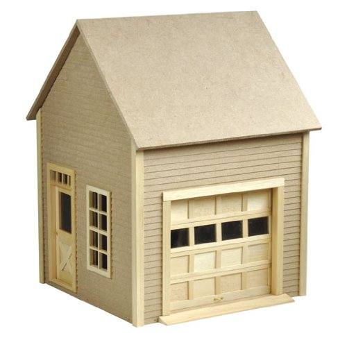 Dollhouse Miniature Garage with Working Garage Door by Houseworks (Dollhouse Doors And Windows compare prices)