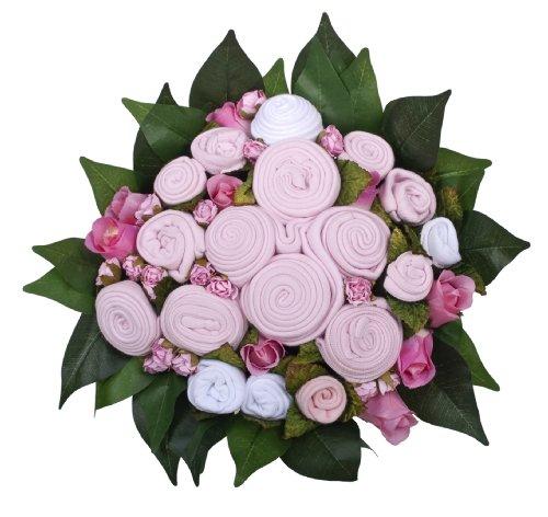 The Baby Bunch Premium Gift Basket, Pink/White, 0-6 Months