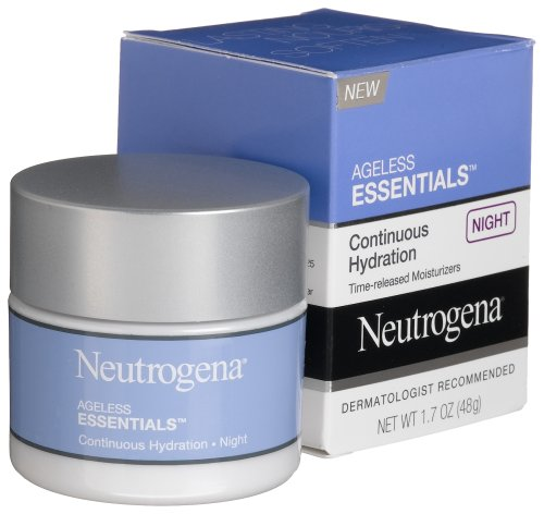 Neutrogena Neutrogena Ageless Essentials Continuous Hydration, Night, 1.7 Ounce