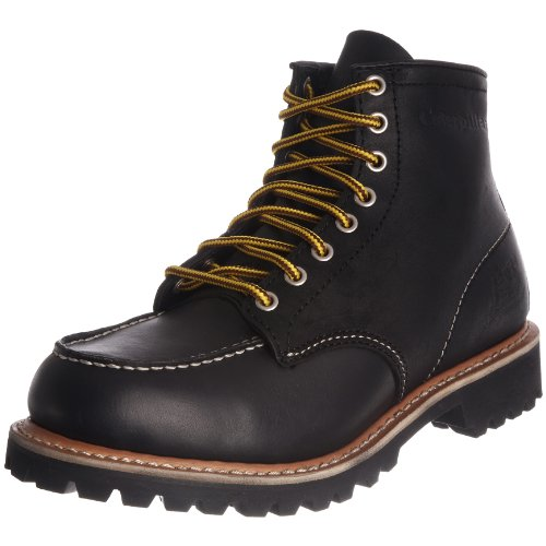 Cat Footwear Men's Roughneck Lace Up Black 700128 7 UK