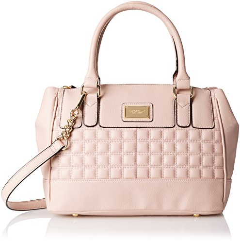 Tignanello Lady Q Status Satchel Top Handle Bag, Peony, One Size Size