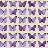Papillon Plum Wallpaper - Arthouse