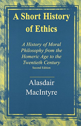 A Short History of Ethics: A History of Moral Philosophy...