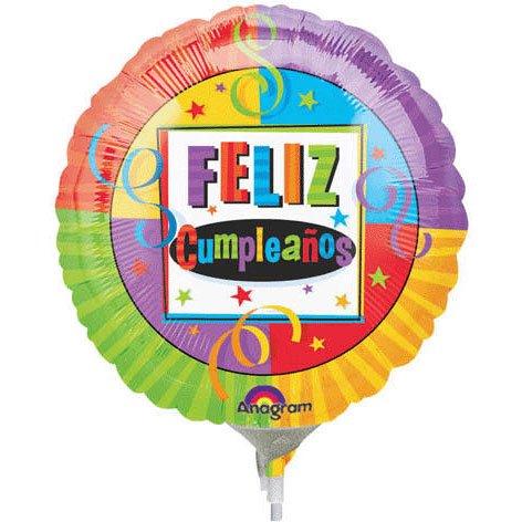 Birthday Perfection Feliz Cumpleanos Mini Anagram Balloons