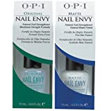 OPI DUO PACK: NAIL ENVY ORIGINAL 15ML & NAIL ENVY MATTE 15ML ***FREE GOLDEN ROSE NAIL VARNISH FOR THIS PURCHASE***