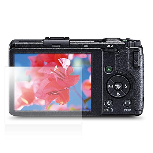 PGA RICOH GR series用 液晶保護ガラス スーパークリア PG-RIGRGL1