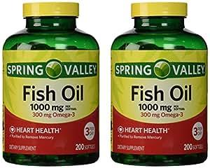 Buy Spring Valley Fish Oil Omega 3 1000 Mg 400