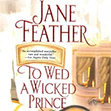 To Wed a Wicked Prince Audiobook by Jane Feather Narrated by Emma Taylor
