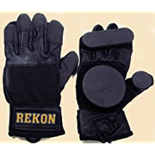 Brand New REKON Longboard Skateboard Down Hill Sliding Gloves Size: L