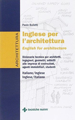 Inglese per l'architettura PDF