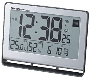 mag mug radio alarm clock pile driver digital display large screen display. Black Bedroom Furniture Sets. Home Design Ideas