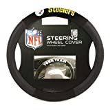 NFL Pittsburgh Steelers Poly-Suede Steering Wheel Cover Reviews