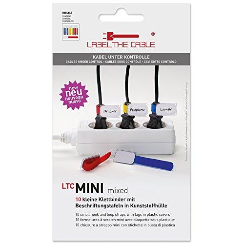 Label The Cable Fermacavo LTC Mini Label, colore: Multicolore