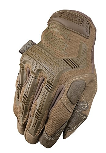 Mechanix Wear M-Pact MPT-72 Brown 9 Synthetic Leather/Trekdry Mechanic's Gloves - Thermoplastic Elastomer Fingers & Knuckles Coating - MPT-72-009 [PRICE is per PAIR]
