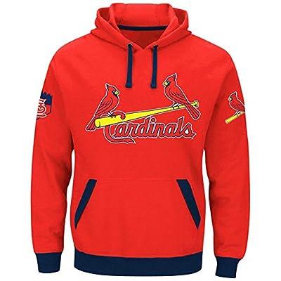 Majestic Men's St. Louis Cardinals Fleece Hoodie