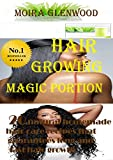 HAIR GROWING MAGIC PORTION (20 natural homemade Hair care recipes that guarantees long and fast hair growth