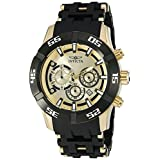 Invicta Men's 'Sea Spider' Quartz Stainless Steel Casual Watch (Model: 21819)