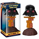 Darth Vader Pig ~6 Bobble Head Figure: Angry Birds Star Wars Wacky Wobbler Series